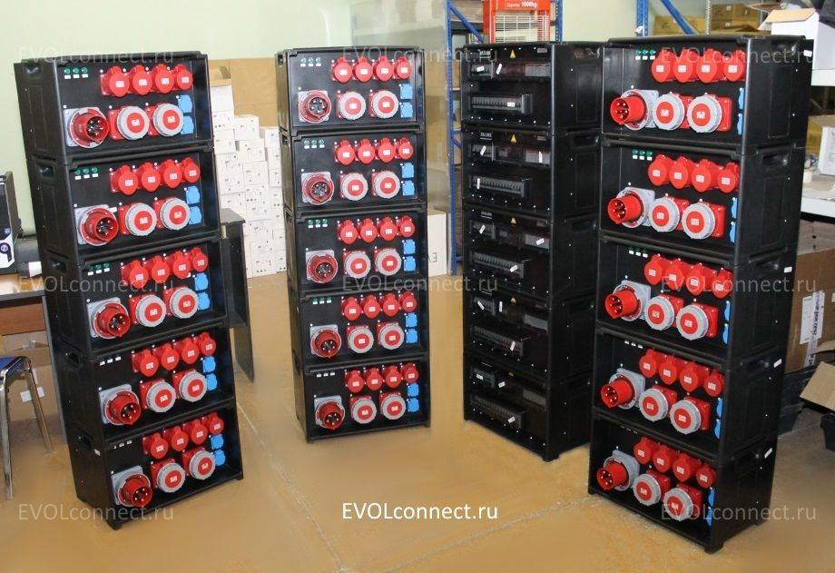 распределительные щиты временного электроснабжения